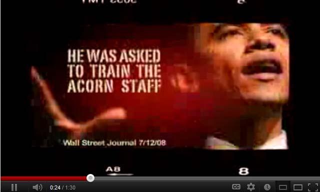 Obama: Acorn Staff Trainer